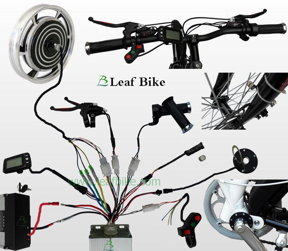 16 inch 36v 750w rear hub motor electric bike kit. Black Bedroom Furniture Sets. Home Design Ideas