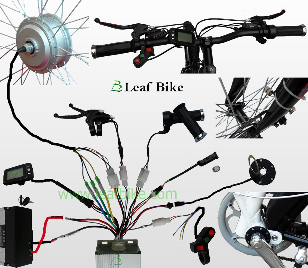 E Bike Wiring Diagram Schematic 2019 Electric 24v 250w Front Brushless Geared Hub Motor Throttle