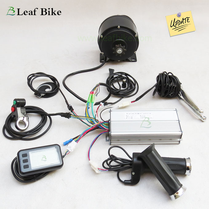 Electric Motor Kit For Trike: 48V 500W Electric Tricycle Conversion Kit