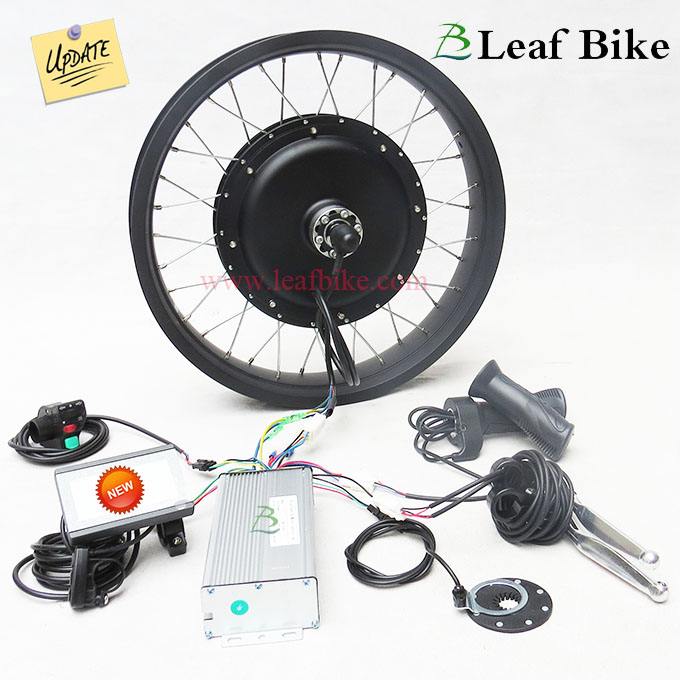 20 inch 48v 1000w rear hub motor electric bike conversion for Fat bike front hub motor